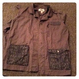 Long sleeve army jacket